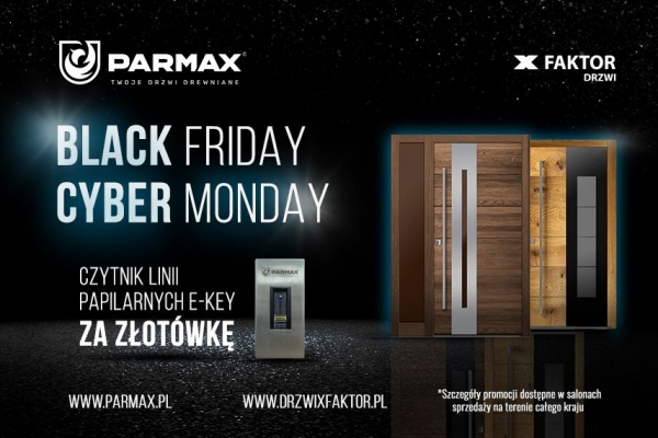 Black Friday i Cyber Monday w Parmax!